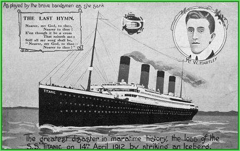 100 лет гибели титаника